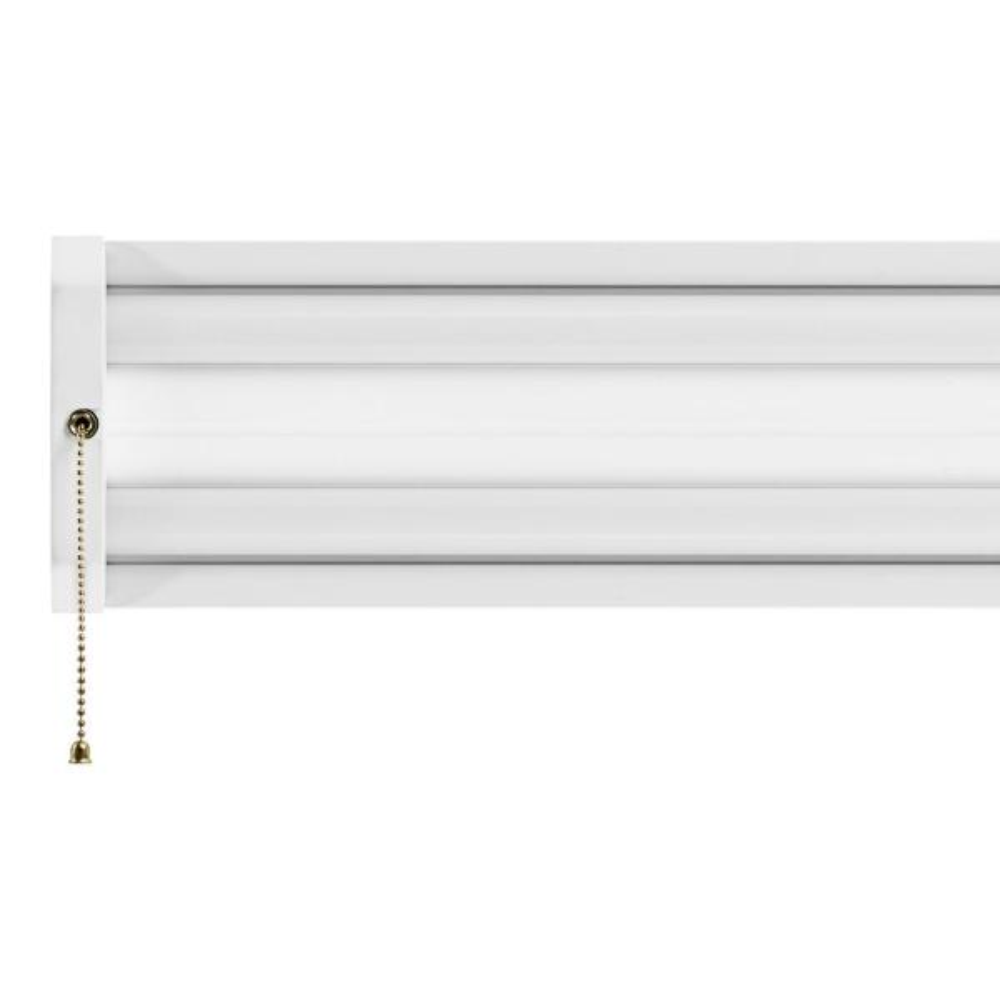 70-Watt 4 ft. White Integrated LED Linkable Shop Light Fixture