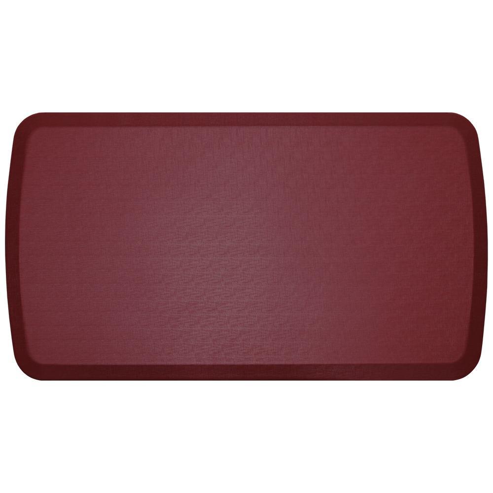 Elite Linen Cardinal 20 in. x 36 in. Comfort Kitchen Mat