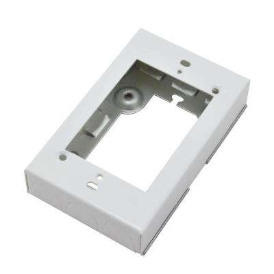 Wiremold 700 Series Metal Surface Raceway Starter Electrical Box, White