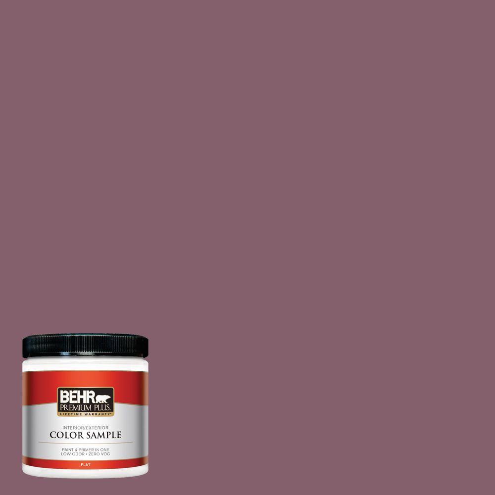 8 oz. #BIC-35 Vintage Plum Interior/Exterior Paint Sample