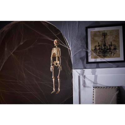 3 ft LED Hanging Skeleton