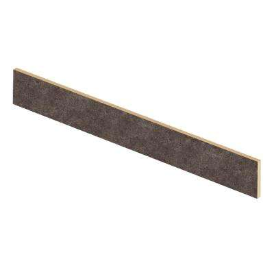 Starry Dark 94 in. L x 1/2 in. T x 7-3/8 in. W Vinyl Overlay Riser to be Used with Cap A Tread