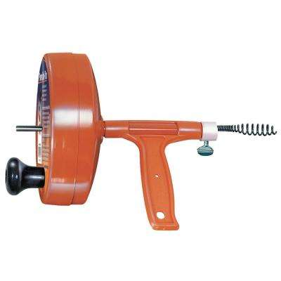 1/4 in. x 25 ft. Power Deluxe Spin-Thru Drain Hand Auger