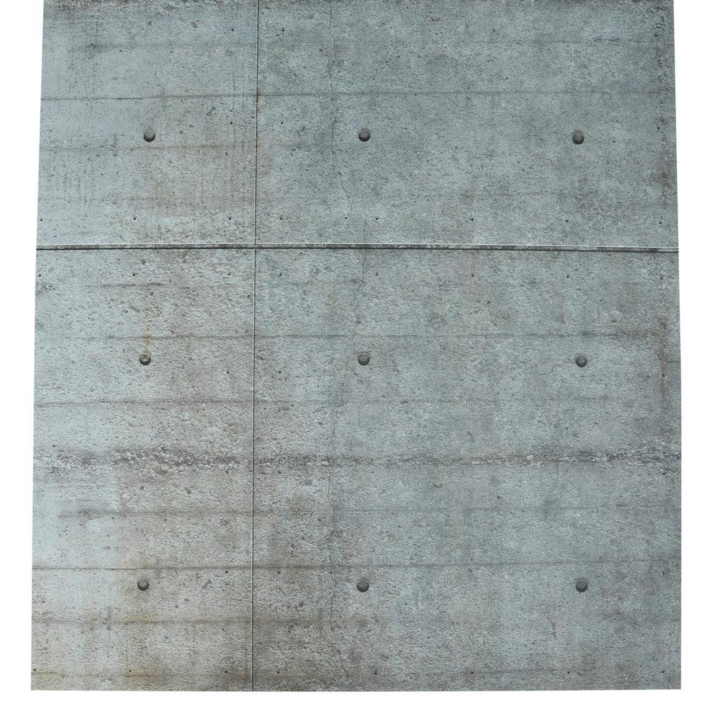 Komar 100 in x 145 in Concrete Blocks Wall Mural 8 938 The Home