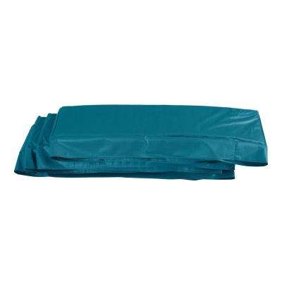 8 ft. x 14 ft. Aqua Super Trampoline Replacement Safety Pad