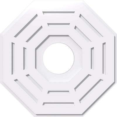 26 in. OD x 7 in. ID x 1 in. P Westin Architectural Grade PVC Contemporary Ceiling Medallion