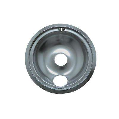 6 in. B Style Drip Pan in Chrome