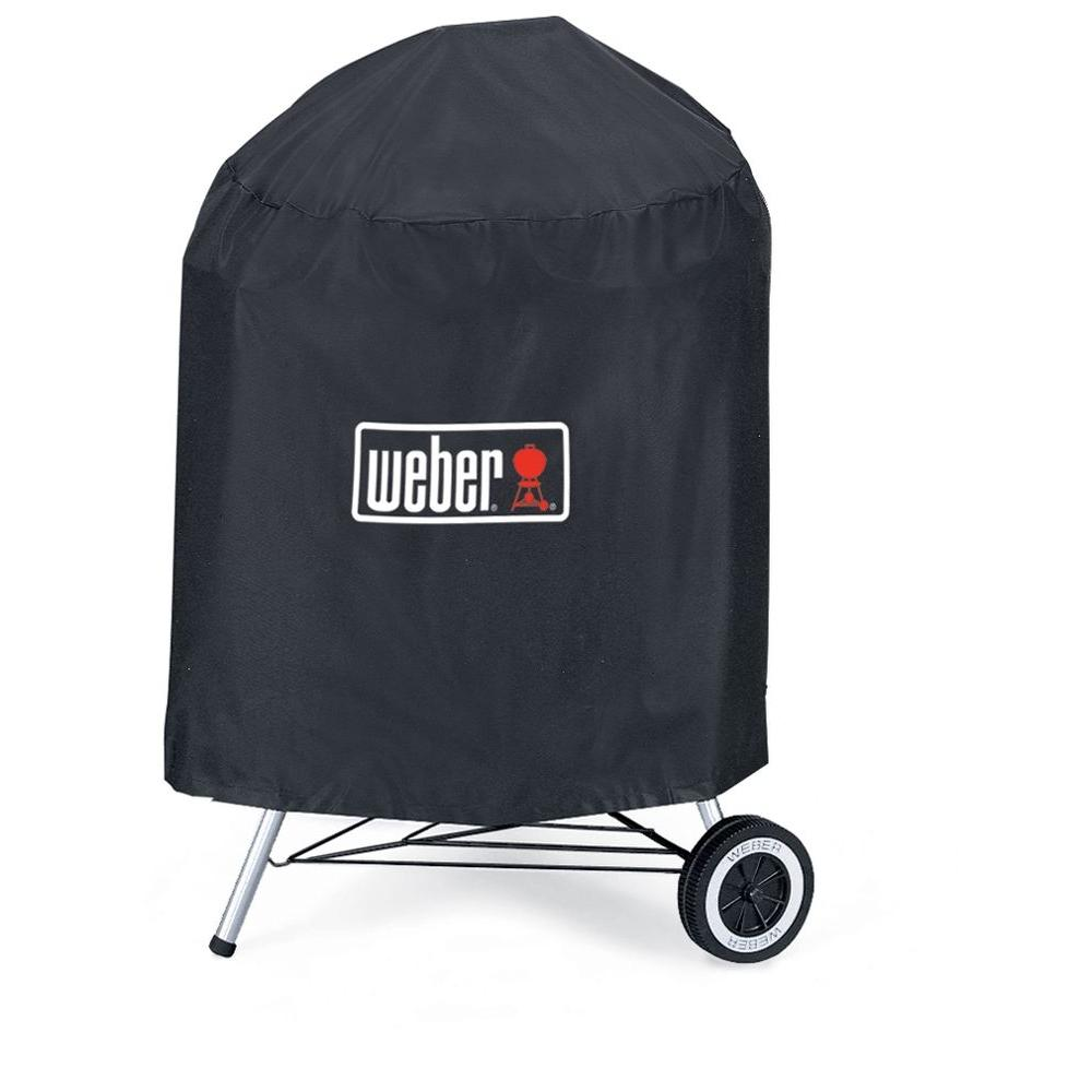 Weber 18-1/2 in. Charcoal Grill Premium Cover-DISCONTINUED
