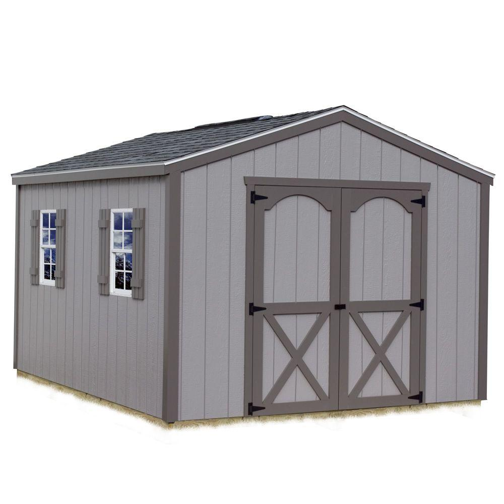 Best Barns Elm 10 ft. x 8 ft. Wood Storage Shed Kit with Floor