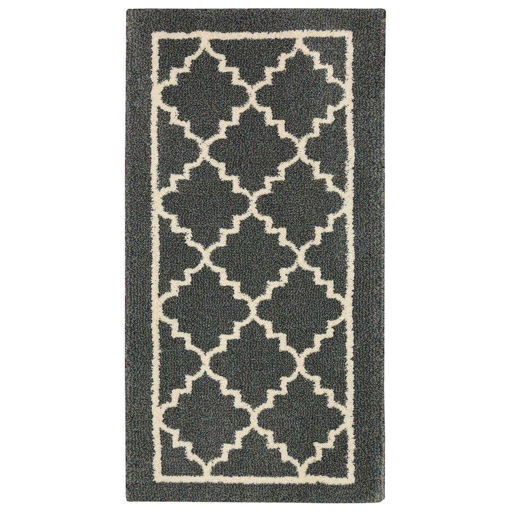 Home decorators collection winslow dark slate 2 ft x 4 ft for Home decorators echelon rug