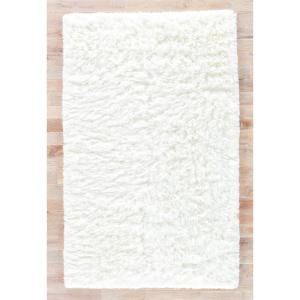Jaipur Rugs Shag Star White 2 ft. x 3 ft. Solid Accent Rug by Jaipur Rugs
