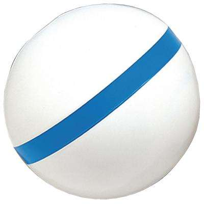 Sur-Moor T3C Mooring Buoy, White with Blue Reflective Striping