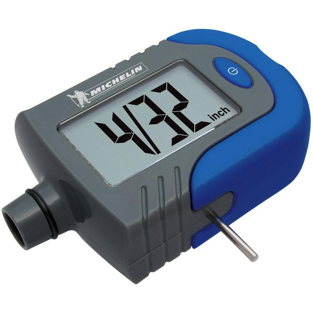 Digital Indicator Gauge : Michelin digital tire gauge with tread depth indicator mn