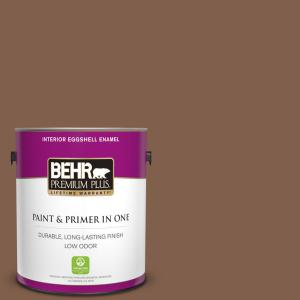 Behr Premium Plus 1 Gal Home Decorators Collection Hdc Sp14 6 Tilled Earth Eggshell Enamel Low Odor Interior Paint Primer 230001 The Home Depot
