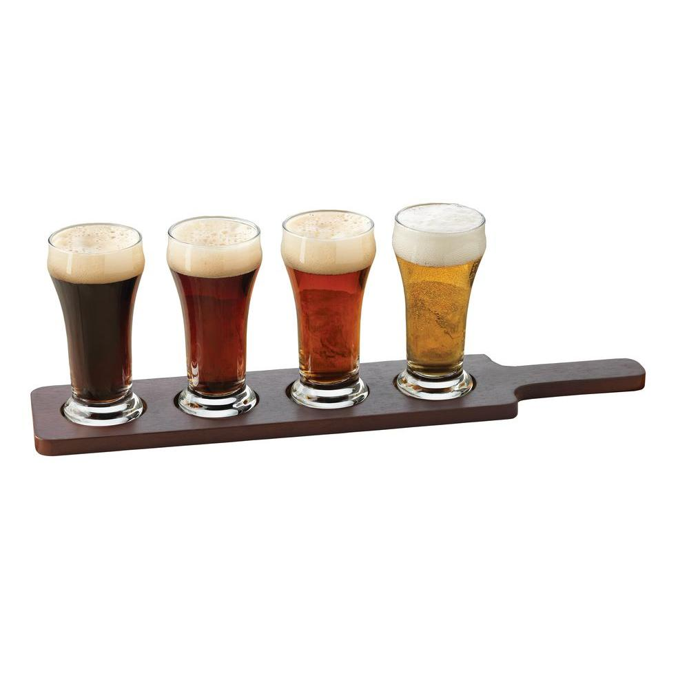 Libbey Craft Brews Beer Flight 6 oz. Clear Pilsner Glass (Set of 5)