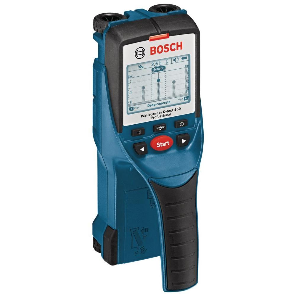 D-Tech 6 in. Multi-Scanner with 7 Detection Modes for Metal, Wood,