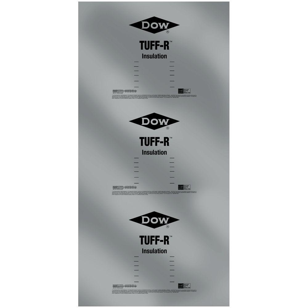 Super TUFF-R 1 in. x 4 ft. x 8 ft. R-6.5 Foam Insulation