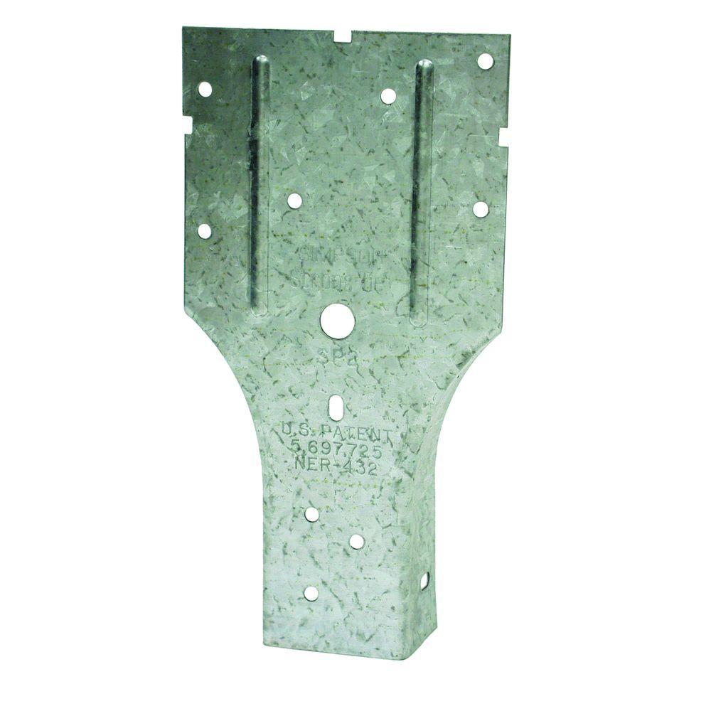 SP 3-1/2 in. x 6-5/8 in. Galvanized Stud Plate Tie