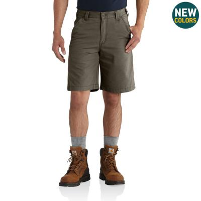 Men's 44 in.  Tarmac Cotton/Spandex Rugged Flex Rigby Short