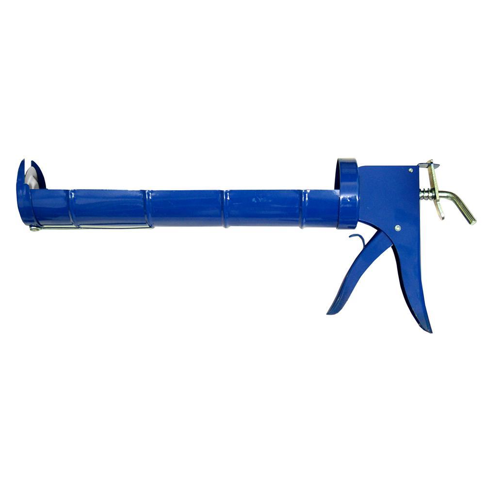 premier 13 in quart size smooth rod caulk gun 6 pack h791 the home depot. Black Bedroom Furniture Sets. Home Design Ideas