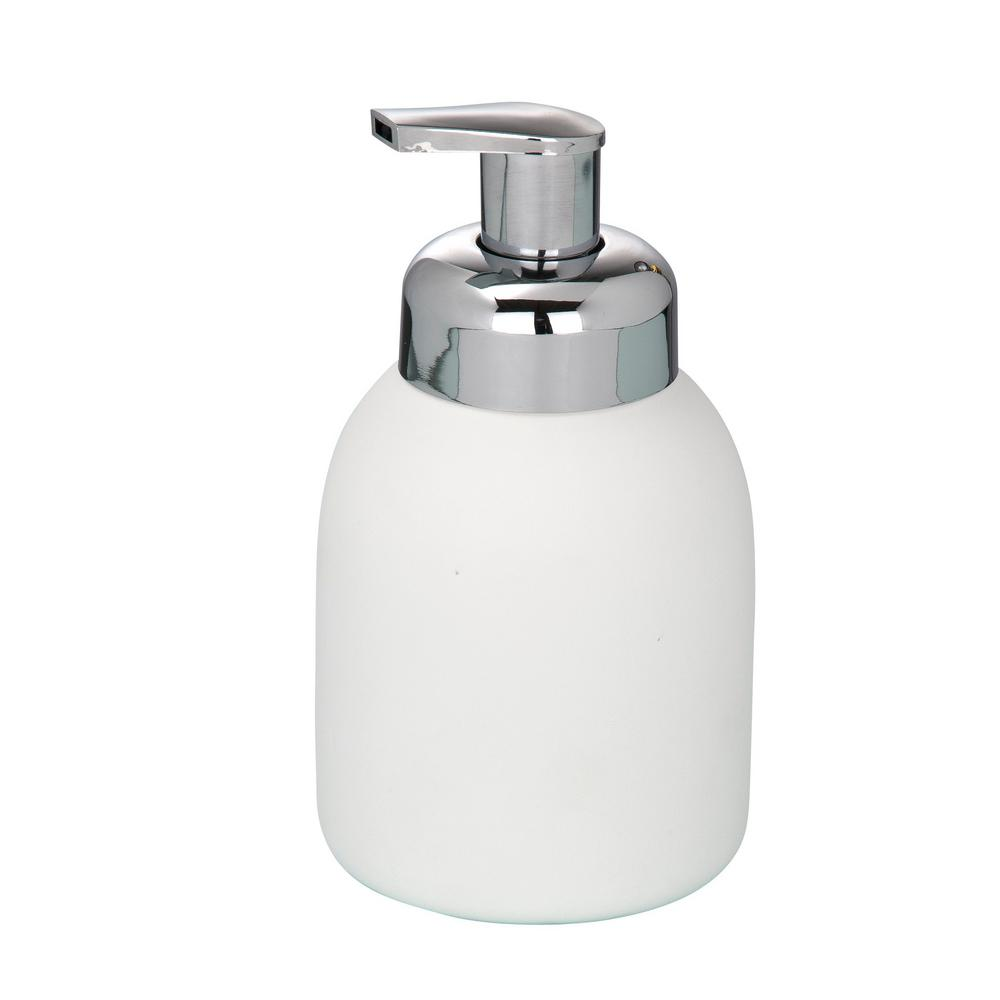 Wenko Ceramic Foam Dispenser In White