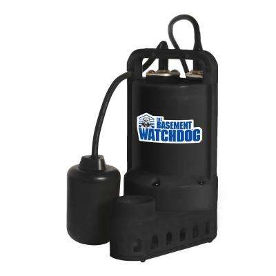1/2 HP Submersible Sump Pump with Tether Switch