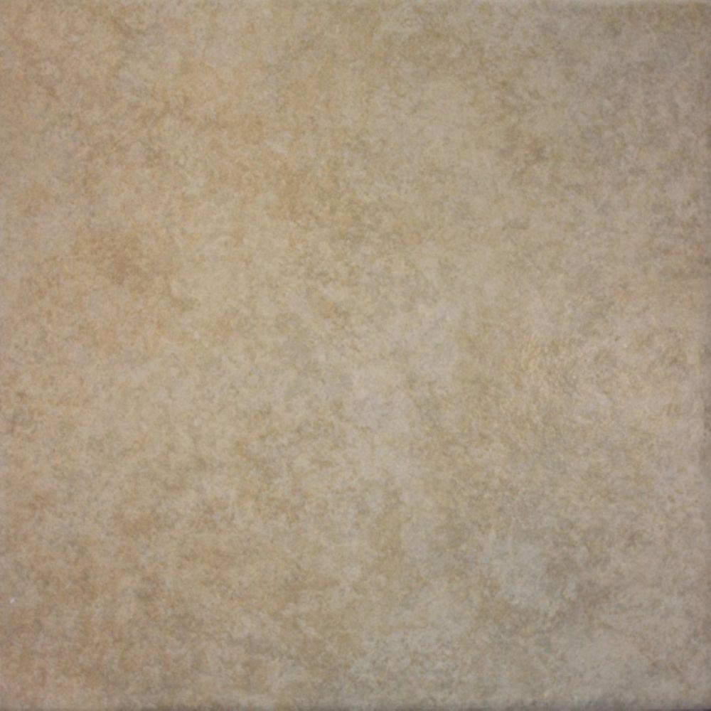TrafficMaster TrafficMASTER Navajo Sand 12 in. x 12 in. Ceramic Floor and Wall Tile (15 sq. ft. / case), BEIGE TAN