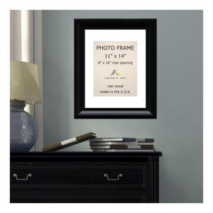 Amanti Art Steinway 8 inch x 10 inch White Matted Black Picture Frame by Amanti Art