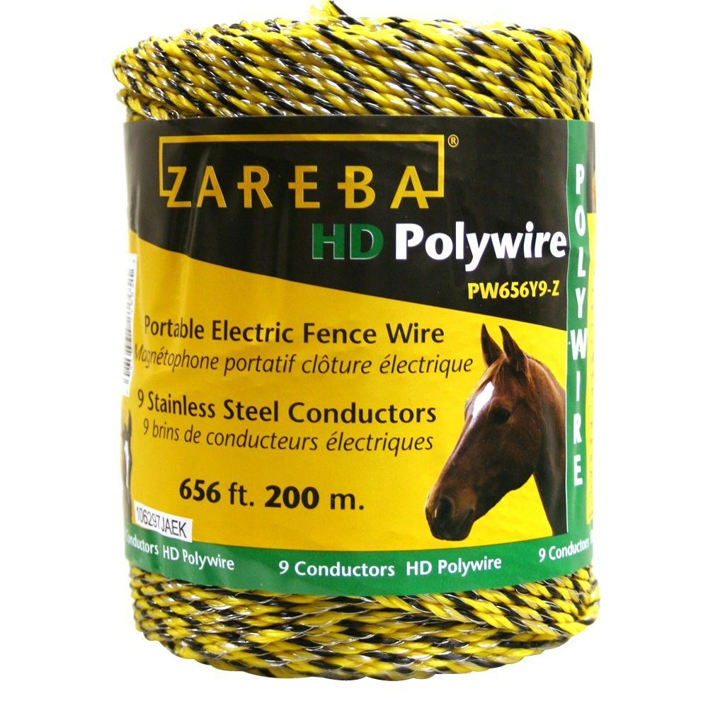 ZAREBA 200 m 9 Conductors Jumbo Poly Wire