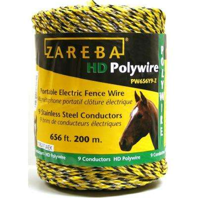 zareba electric fence pw656y9 z 64_400_compressed electric fencing fencing the home depot Electric Fence Circuit Diagram at mifinder.co