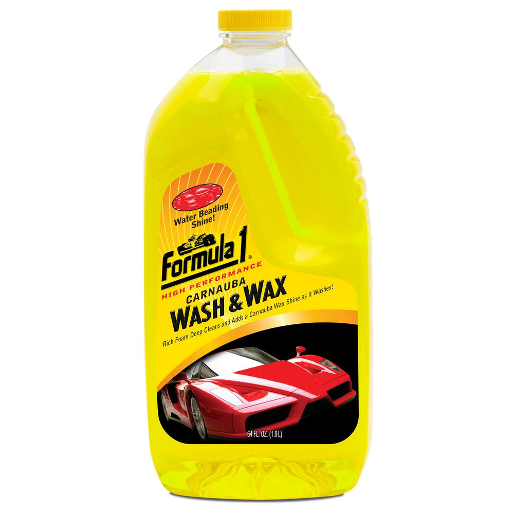 Formula 1 64 oz. Wash and Wax