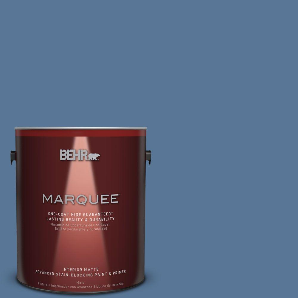 1 gal. #MQ5-53 Privileged Elite One-Coat Hide Matte Interior Paint