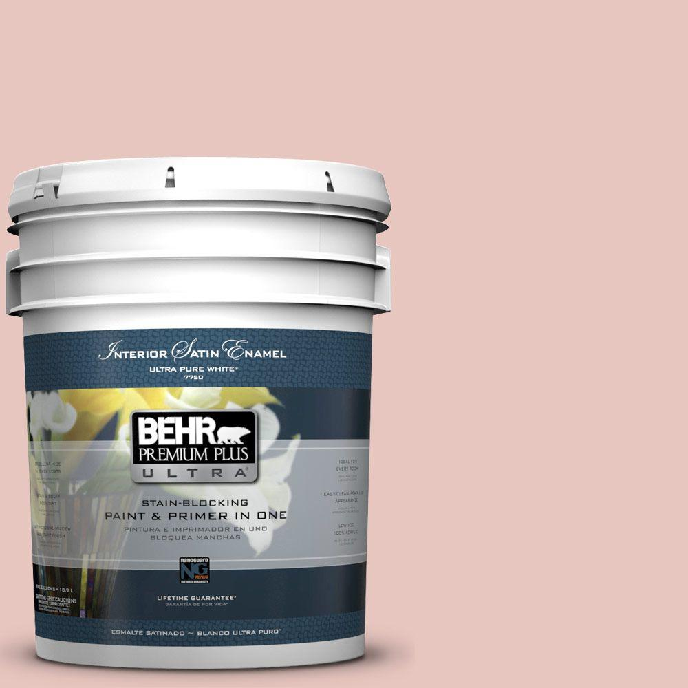 BEHR Premium Plus Ultra 5-gal. #S160-1 Iced Cherry Satin Enamel Interior Paint