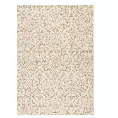 Bermuda Champagne/Taupe 9 ft. x 13 ft. Area Rug