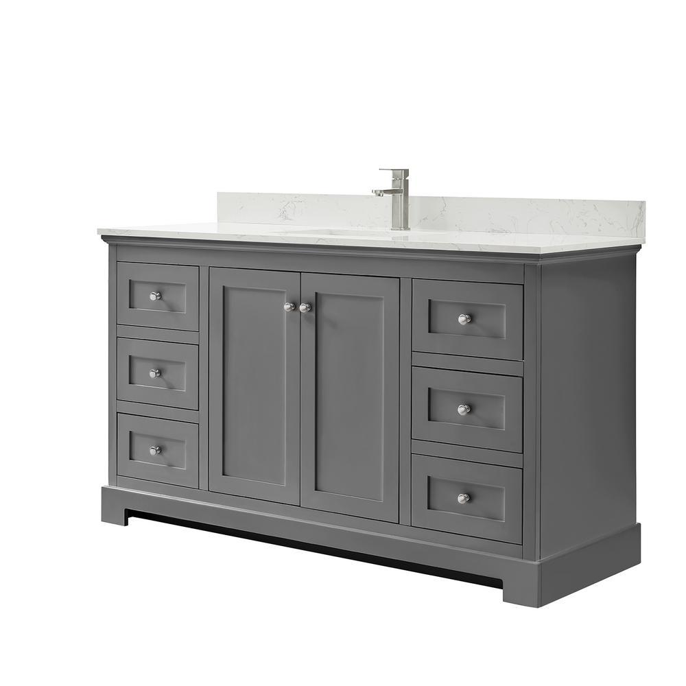 Single Sink Bathroom Vanities Bath The Home Depot