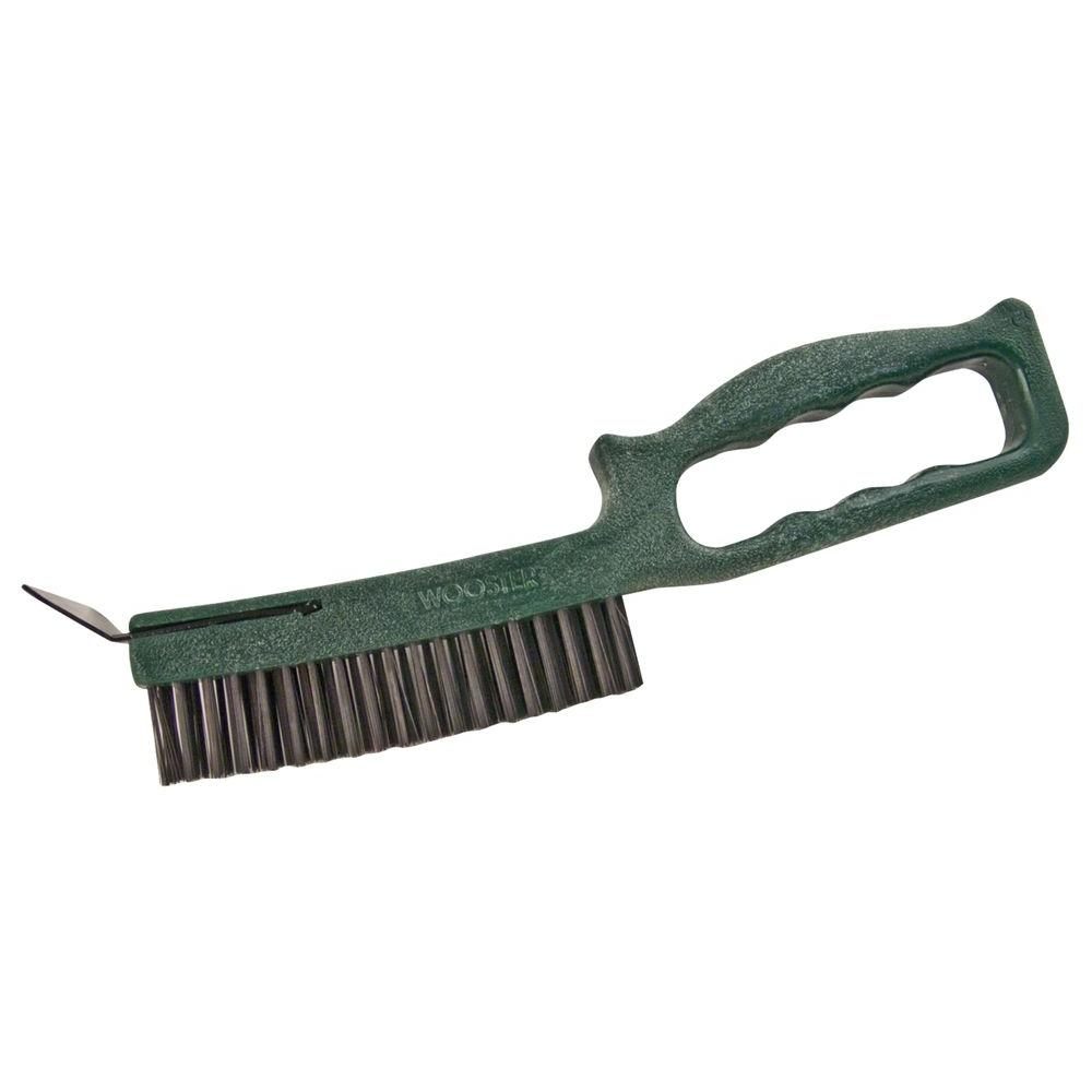Wooster 6 in. Longneck Wire Brush with Scraper