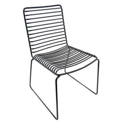 30 in. Black Side Chair