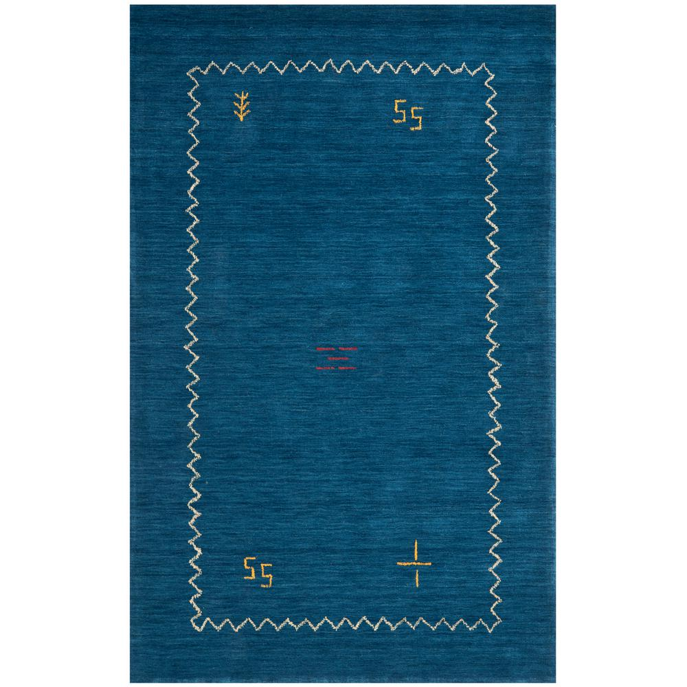 Safavieh Himalaya Blue 3 Ft X 5 Ft Area Rug Him583a 3 The Home Depot