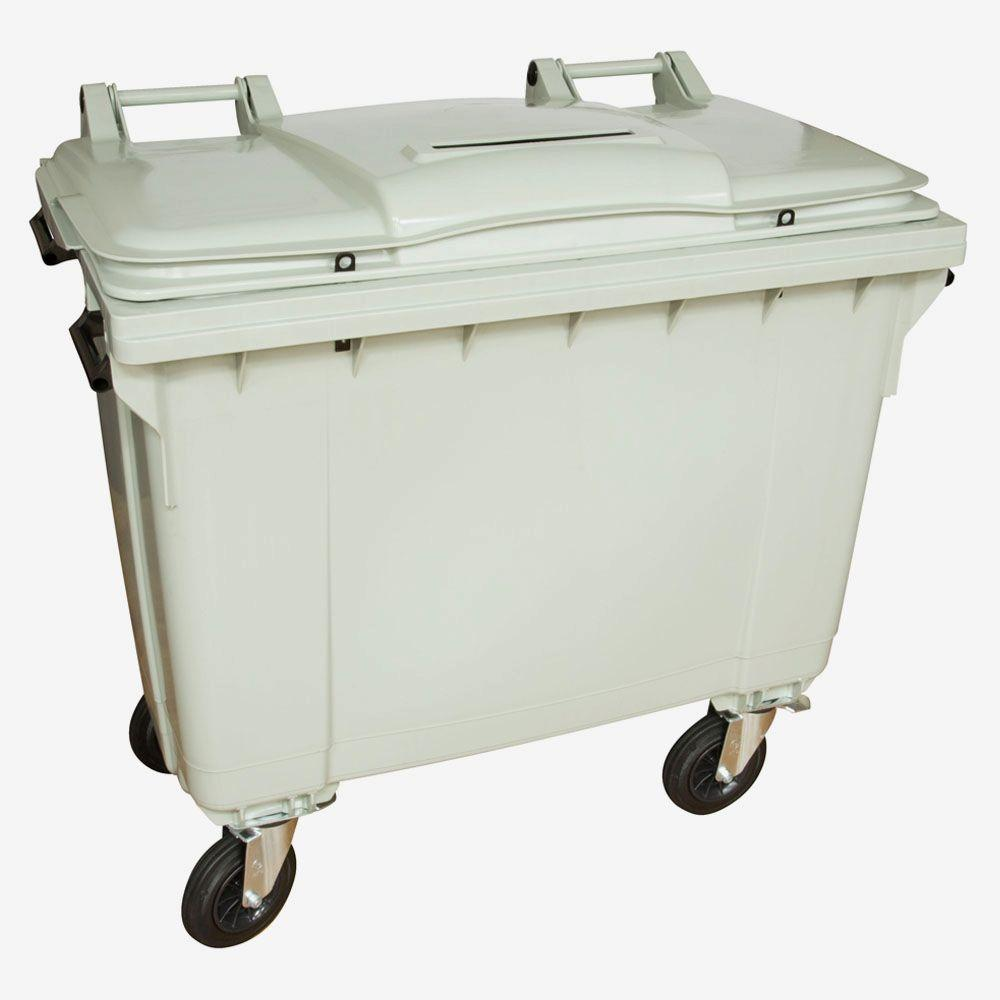 Otto 175 Gal Grey Wheeled Document Security Cart Mgb660