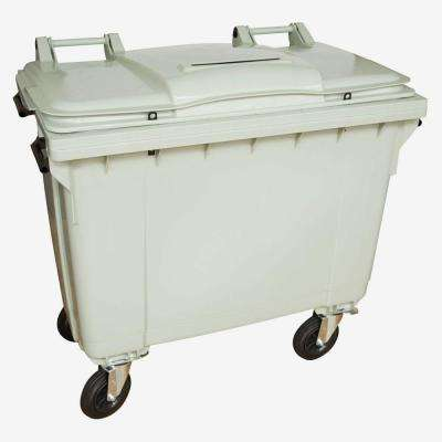 175 Gal. Grey Wheeled Document Security Cart