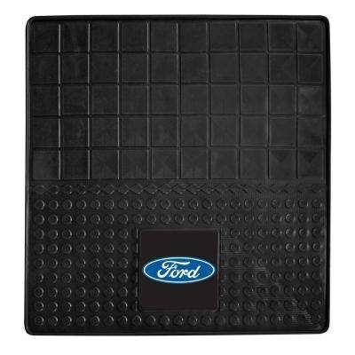 Ford Oval Heavy Duty 31 in. x 31 in. Vinyl Cargo Mat