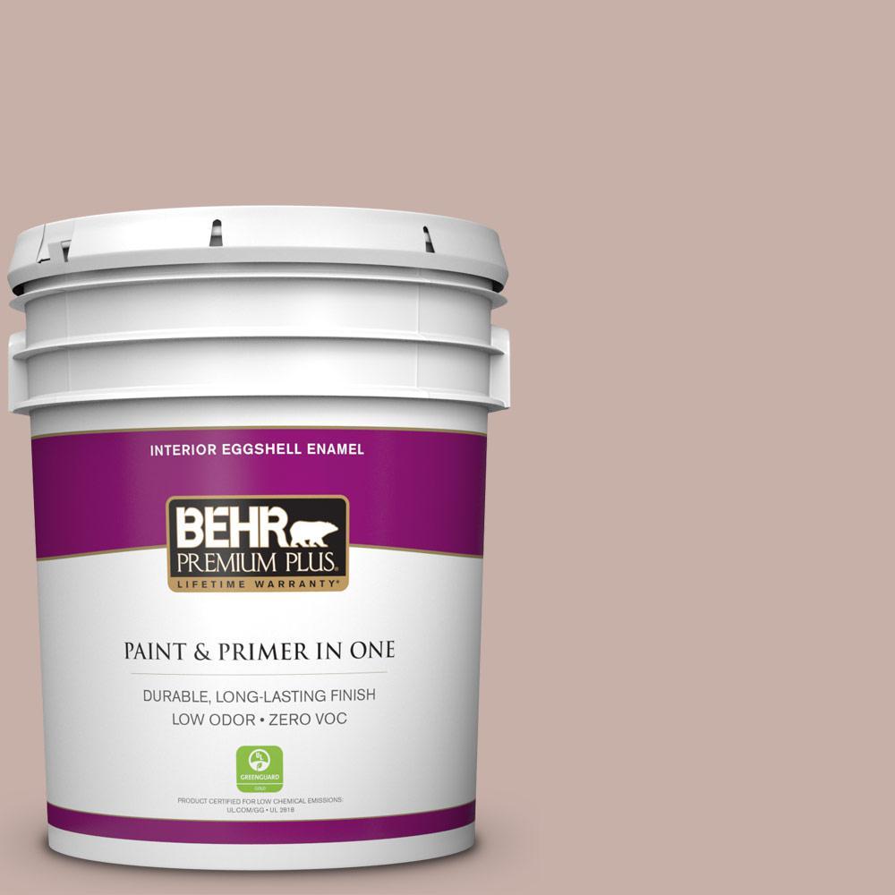 BEHR Premium Plus 5-gal. #N160-3 Vintage Charm Eggshell Enamel Interior Paint