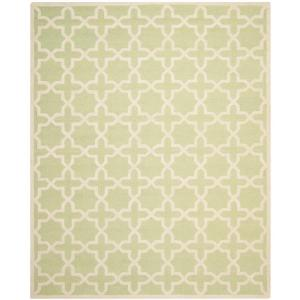 Safavieh Cambridge Light Green/Ivory 11 Ft. X 15 Ft. Area Rug CAM125B 1115    The Home Depot