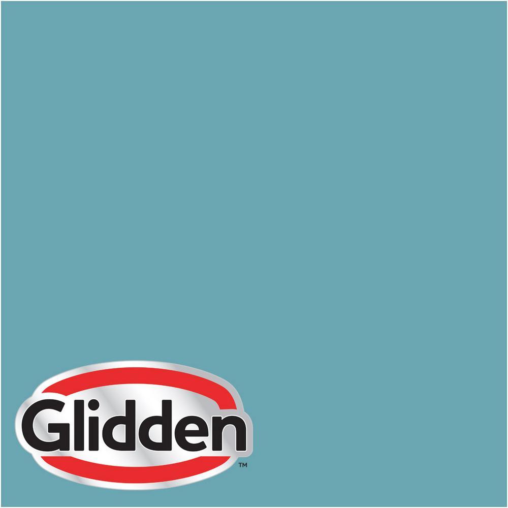Hdgb34 Deepest Aqua Semi Gloss Interior Paint Sample