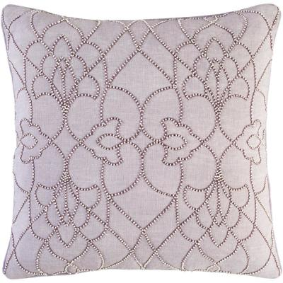 Romilly Purple Graphic Polyester 20 in. x 20 in. Throw Pillow