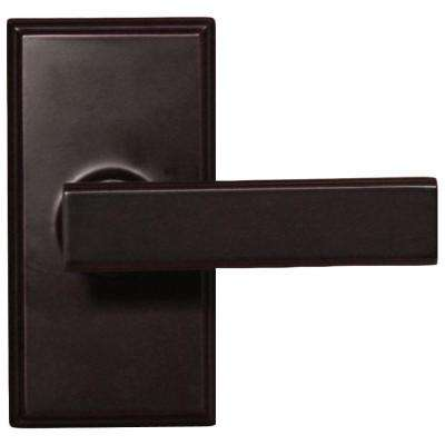 Elegance Oil-Rubbed Bronze Woodward Privacy Bed/Bath Utica Door Lever