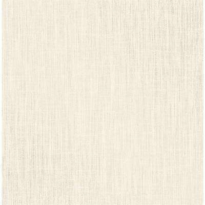 Elgin Beige Vertical Weave Wallpaper Sample