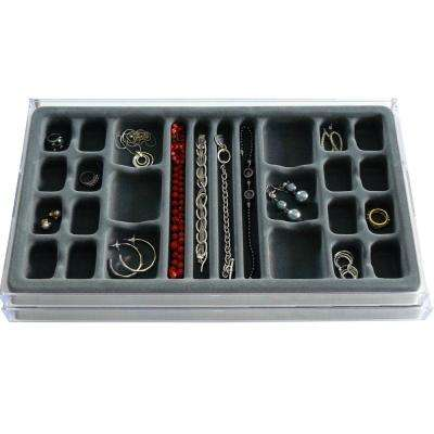 26-Compartment Stack EM Catch-All Jewelry Organizer (2-Pack)