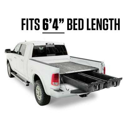 Truck Bed Storage Drawers >> 6 Ft 4 In Bed Length Pick Up Truck Storage System For Dodge Ram 1500 2009 2018 2500 And 3500 2010 Current