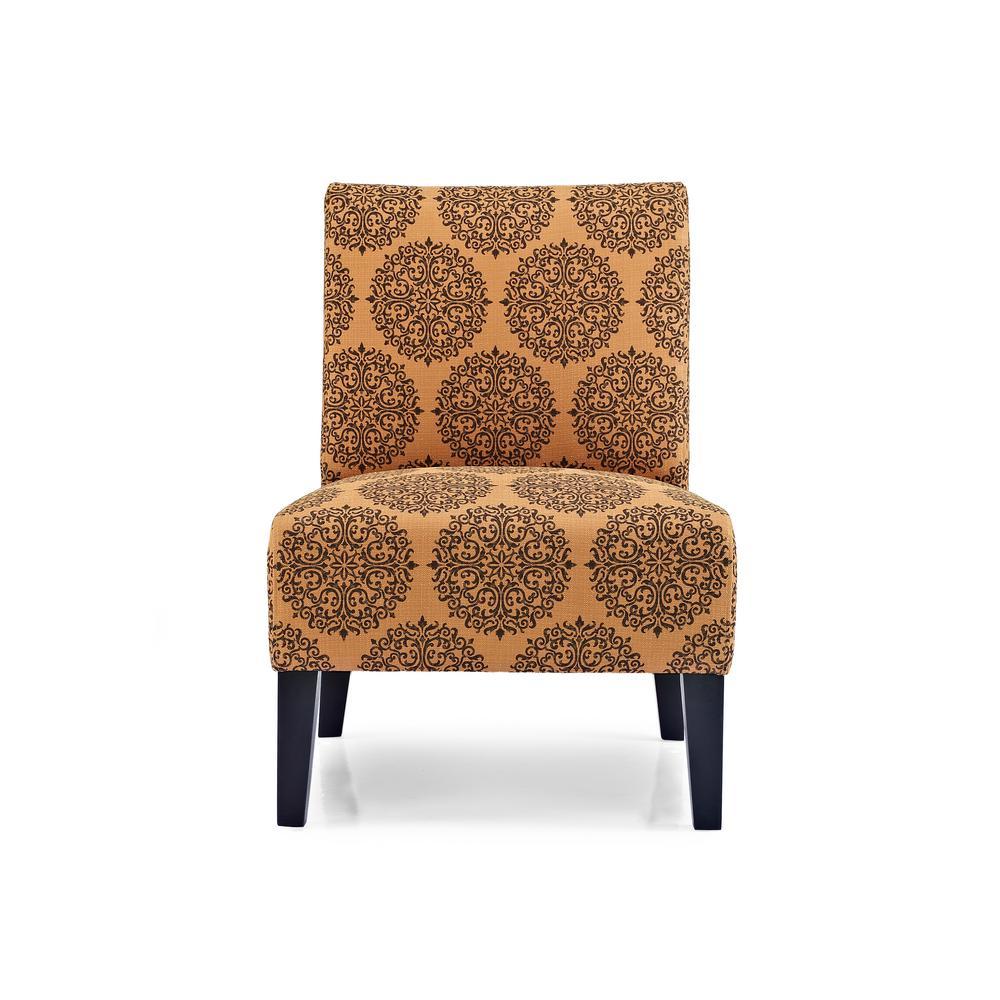 Monaco Spice Gabrielle Accent Chair by
